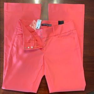 The Limited Exact Stretch salmon pant
